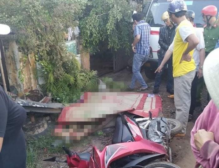 Xe tải tông xe máy đứng chờ đèn đỏ, người đàn ông tử vong