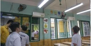 Quạt trần rơi trúng đầu, học sinh lớp 2 ở Lào Cai nhập viện cấp cứu