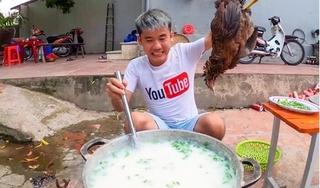 Phạt con trai bà Tân Vlog 7,5 triệu đồng vì nấu cháo gà nguyên con