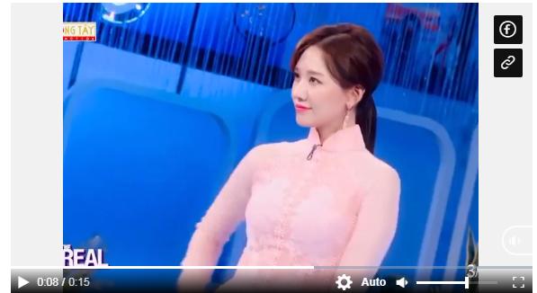 Hari Won khoe nhan sắc xinh đẹp trong trang phục áo dài, Eunjung (T-ara) lập tức vào khen