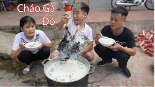 Bà Tân Vlog nói gì khi con trai đăng clip nấu cháo gà nguyên lông?