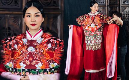 Thanh Hằng lên tiếng về nghi vấn đạo nhái trang phục Trung Quốc