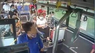 Danh tính người nhổ nước bọt vào phụ xe khi bị nhắc đeo khẩu trang