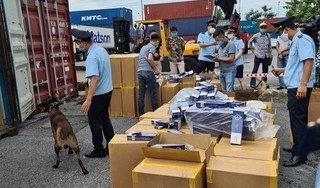 Hải Phòng phát hiện lô thuốc lá nhập lậu trị giá khoảng 30 tỉ đồng
