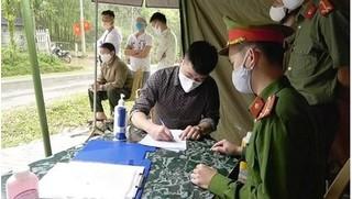 Đưa đối tượng nhập cảnh trái phép đi cách ly tập trung tại Nghệ An
