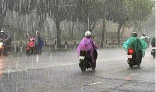 Bắc Bộ và Nam Bộ chiều tối nay sẽ mưa giông diện rộng
