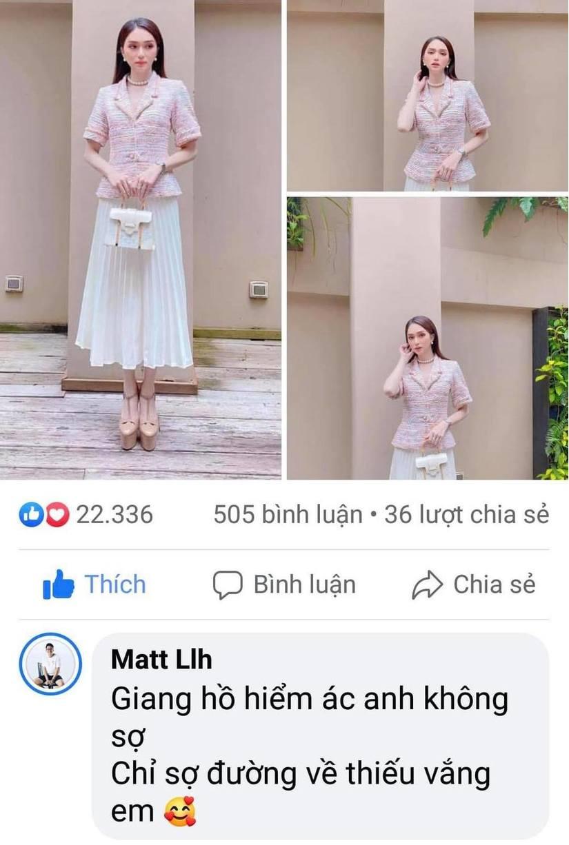 Matt Liu tiếp tục công khai thả thính Hương Giang