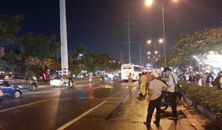 Băng qua đường không quan sát, người phụ nữ bị xe khách tông tử vong