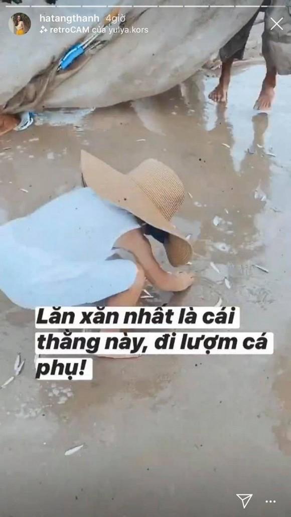 Hành động của quý tử trong hàng đồ chơi khiến Hà Tăng thích thú tag luôn chồng vào