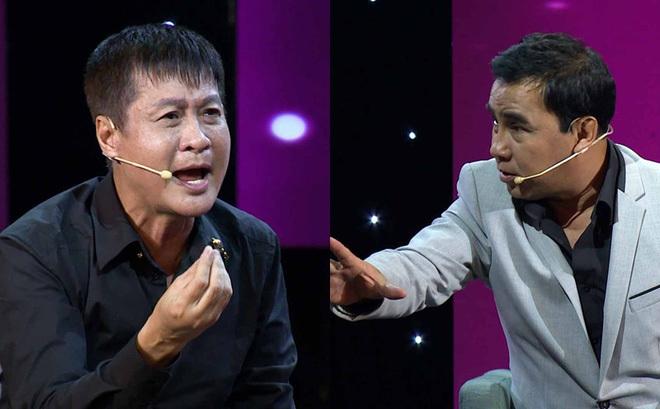 Quyền Linh lần đầu tiên cãi tay đôi với đạo diễn Lê Hoàng trên sóng truyền hình