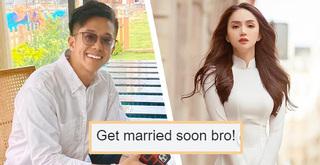 Matt Liu phản ứng thế nào khi được giục kết hôn với Hương Giang?