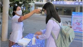 Đà Nẵng triển khai phòng, chống dịch Covid-19 nghiêm ngặt trong ngày học sinh trở lại trường