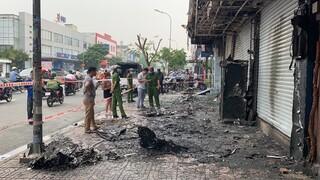 Điều tra vụ cháy nhà lúc sáng sớm ở Gò Vấp, TP.HCM
