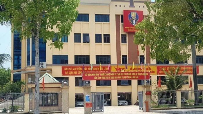 Đại úy CSGT ở Thanh Hóa bị công an Hà Nội 'mời' về làm việc