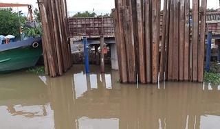 Chìm ghe chở 45 tấn gạo ở Tiền Giang, ước tính thiệt hại hơn 400 triệu đồng