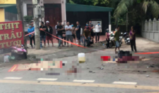 Tài xế tông 3 cô gái đi xe máy tử vong ở Phú Thọ đã ra trình diện