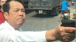 Giám đốc dọa bắn 'vỡ sọ' tài xế xe tải ở Bắc Ninh bị khởi tố