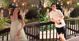 Vừa tặng xế hộp 8 tỷ, Matt Liu lại cùng Hương Giang hẹn hò lãng mạn