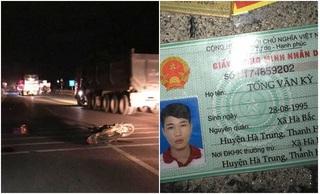 Gây tai nạn chết người rồi bỏ trốn, thanh niên bị bắt vì làm rơi ví