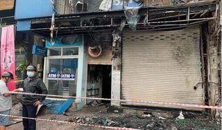 Đã xác định người đàn ông gây ra vụ cháy chi nhánh ngân hàng ở TP.HCM