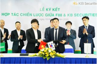 F88 ký hơp tác chiến lược với tập đoàn tài chính Hàn Quốc – KB Financial Group