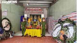 Thăng quân hàm cho chiến sĩ CSCĐ bị ô tô tông tử vong