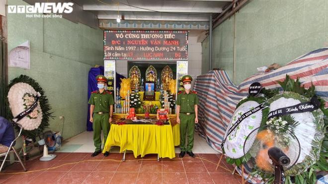 Thăng quân hàm chiến sĩ CSCĐ bị xe tải tông tử vong