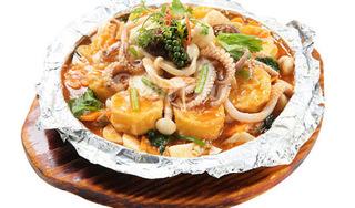 Trổ tài làm món đậu hũ hải sản nướng giấy bạc ngon khó cưỡng