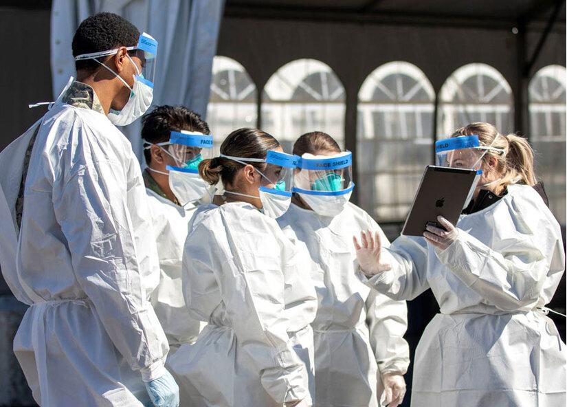 Số ca nhiễm mới trên toàn cầu tiếp tục tăng mạnh