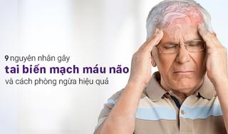 Nhận biết 9 nguyên nhân gây tai biến mạch máu não