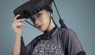 Châu Bùi tung bộ ảnh mới, đẹp ma mị với áo dài tranh cổ