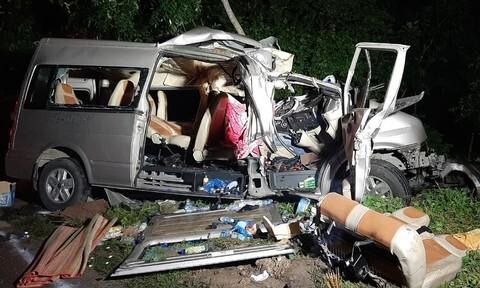 Để phụ xe điều khiển ôtô gây tai nạn làm 8 người chết, tài xế bị khởi tố