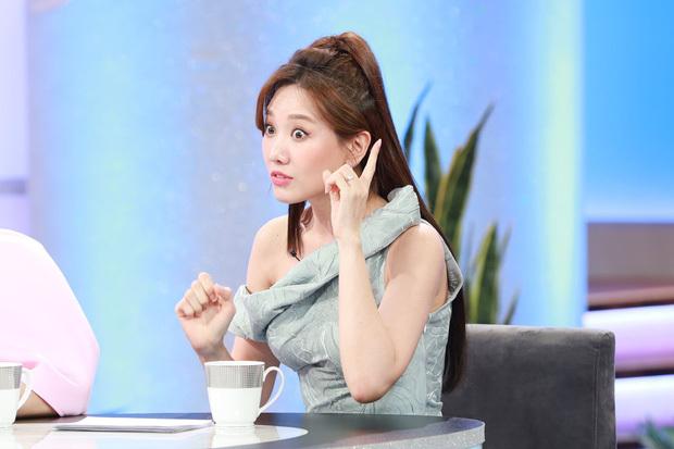 Hari Won tiết lộ mình là gối ôm của Trấn Thành