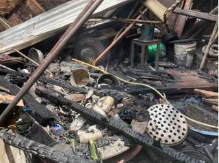 Chủ đi vắng, ngôi nhà ở Đồng Nai bỗng bốc cháy dữ dội