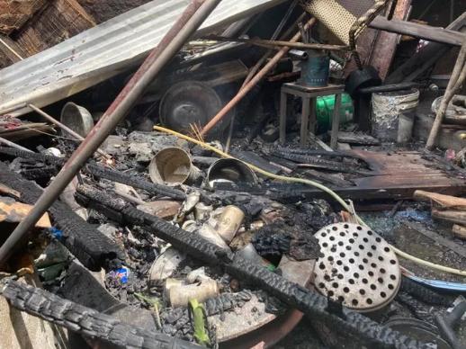 Chả nhà đi vắng, ngôi nhà ở Đồng Nai bỗng bốc cháy dữ dội