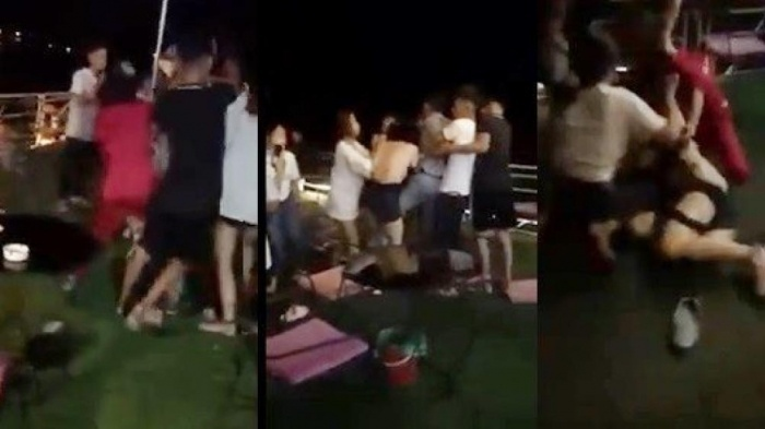 4 người tham gia vụ đánh ghen lột đồ ở Ba Vì bị mời lên công an