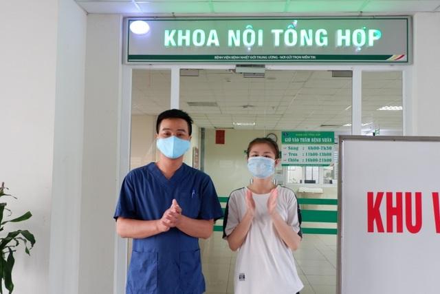 Hà Nội công bố khỏi bệnh cho 2 trường hợp mắc Covid-19