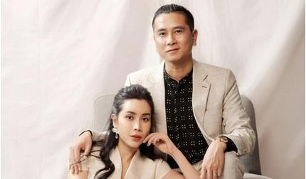 Vợ chồng Lưu Hương Giang chụp ảnh theo phong cách vua Bảo Đại - Song Hye Kyo