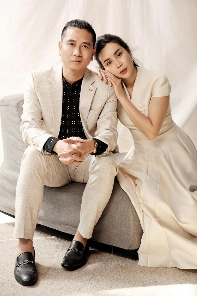 Lưu Hương Giang  Hồ Hoài Anh chụp ảnh theo phong cách vua Bảo Đại  Song Hye Kyo