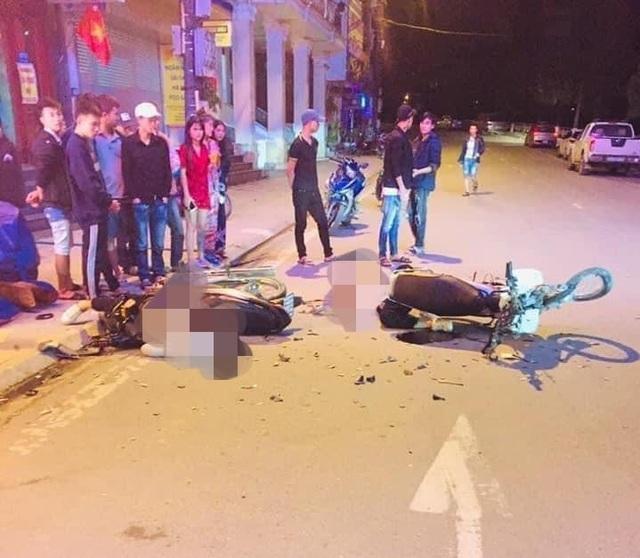 2 thanh niên đi xe máy tử vong sau cú va chạm xe máy lúc sáng sớm