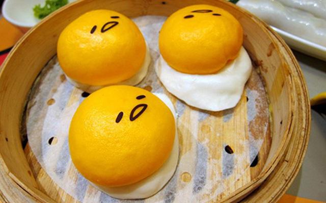 Bữa sáng đơn giản cho gia đình với bánh bao kim sa xốp mịn béo ngậy