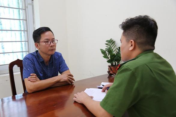 Nguyễn Mạnh Toàn tại cơ quan điều tra