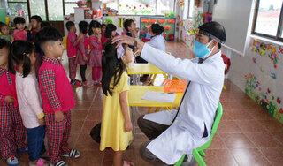 Bùng phát bệnh chân tay miệng tại một trường mầm non ở Lâm Đồng