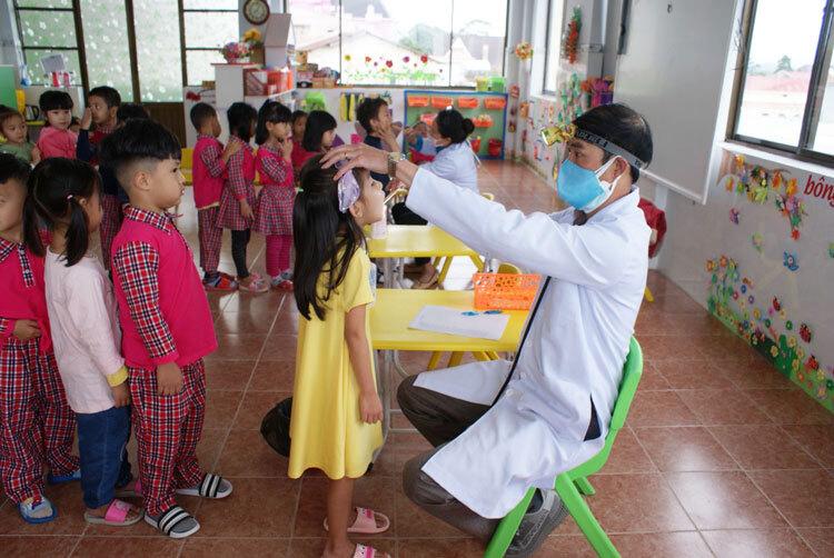 Xuất hiện chùm ca bệnh tay chân miệng ở một trường mầm non tại Đà Lạt