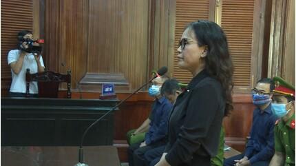 Bà Lê Thị Thanh Thúy: 'Không thể cáo buộc tôi xúi giục, tác động ông Tài'