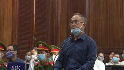 Cựu Phó Chủ tịch UBND TP.HCM Nguyễn Thành Tài bật khóc trên tòa