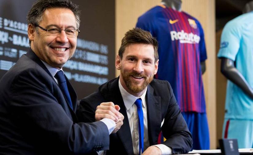 Chủ tịch Bartomeu không muốn mâu thuẫn với Messi