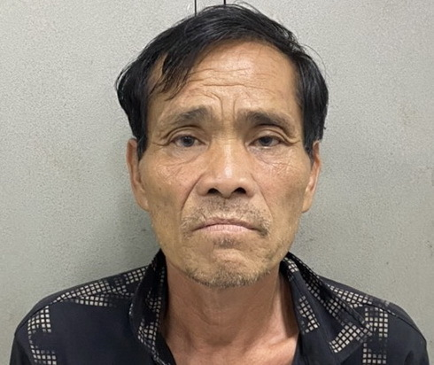 Mai Thế Tuấn sau khi bị bắt giữ