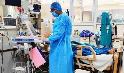 Bệnh nhân 793 ở Bắc Giang vẫn trong tình trạng nặng, đang thở oxy