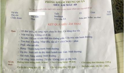 Nhà trường nói gì về nữ sinh lớp 9 mang thai ở Thanh Hóa?